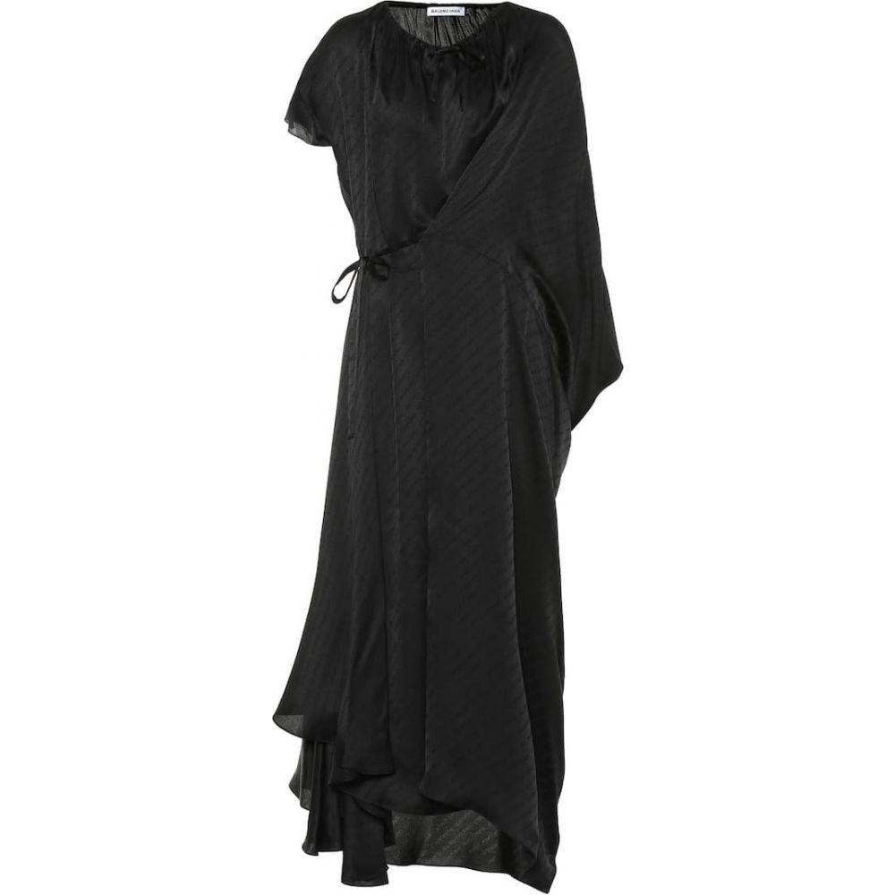 バレンシアガ Balenciaga レディース ワンピース ワンピース・ドレス【asymmetric silk dress】