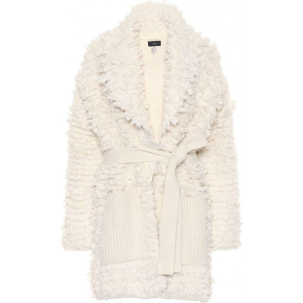 アラヌイ Alanui レディース カーディガン トップス【wool-blend cardigan】lapponia white