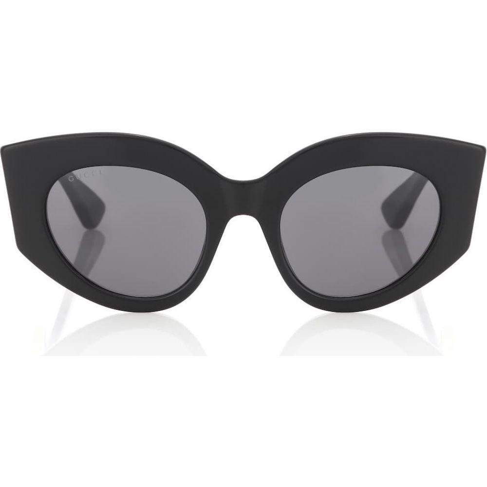 sunglasses】 Gucci メガネ・サングラス cat-eye レディース グッチ キャットアイ【oversized