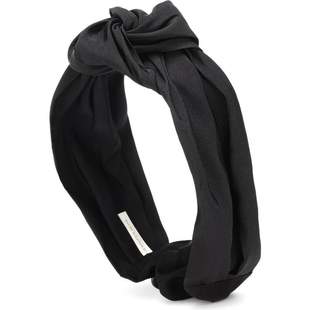 ジェニファーベア Jennifer Behr レディース ヘアアクセサリー ヘッドバンド【marin satin headband】Black