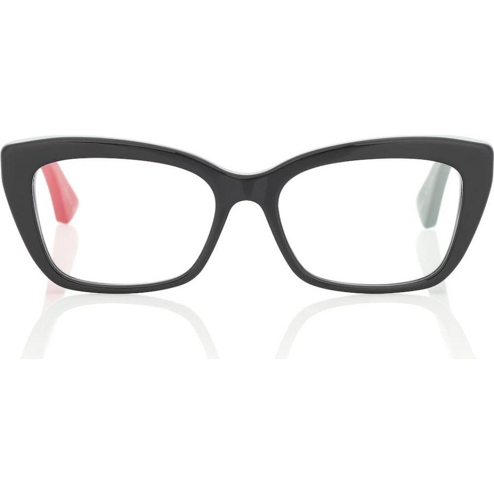グッチ Gucci レディース メガネ・サングラス 【rectangular acetate glasses】