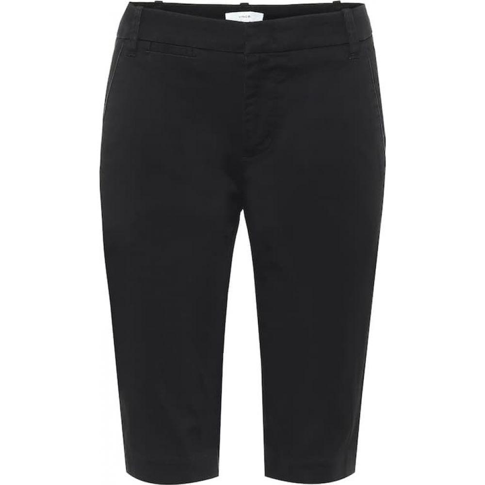 ヴィンス Vince レディース ショートパンツ バミューダ ボトムス・パンツ【mid-rise cotton bermuda shorts】Black