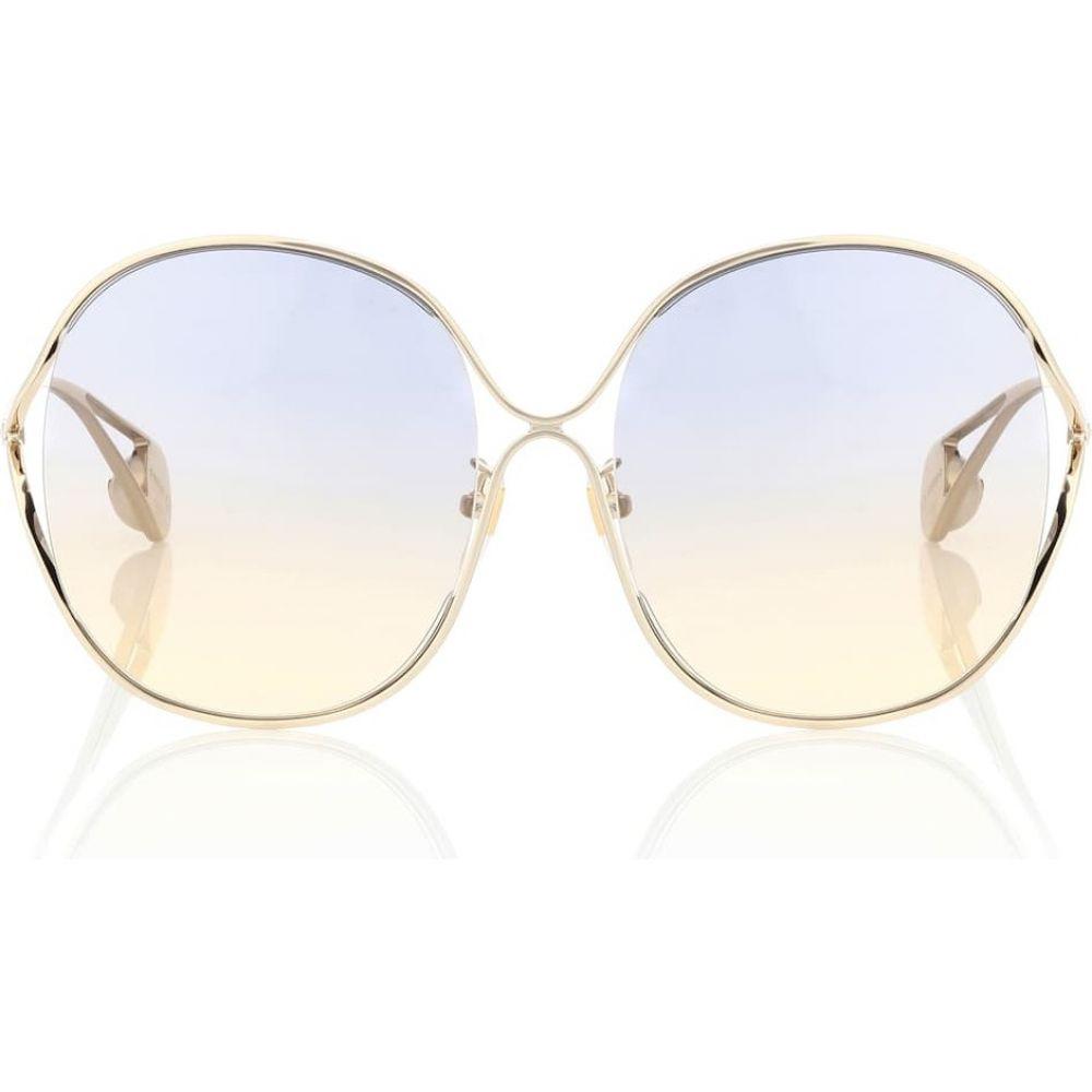 グッチ Gucci レディース メガネ・サングラス ラウンド【oversized round sunglasses】