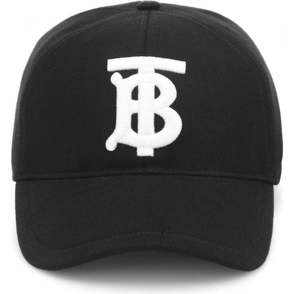 バーバリー Burberry レディース キャップ ベースボールキャップ 帽子【tb cotton baseball cap】black