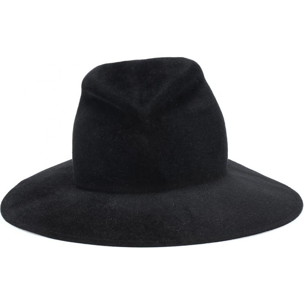 ローラ ハット Lola Hats レディース 帽子 【saddled up felt hat】Black/Dark Brown