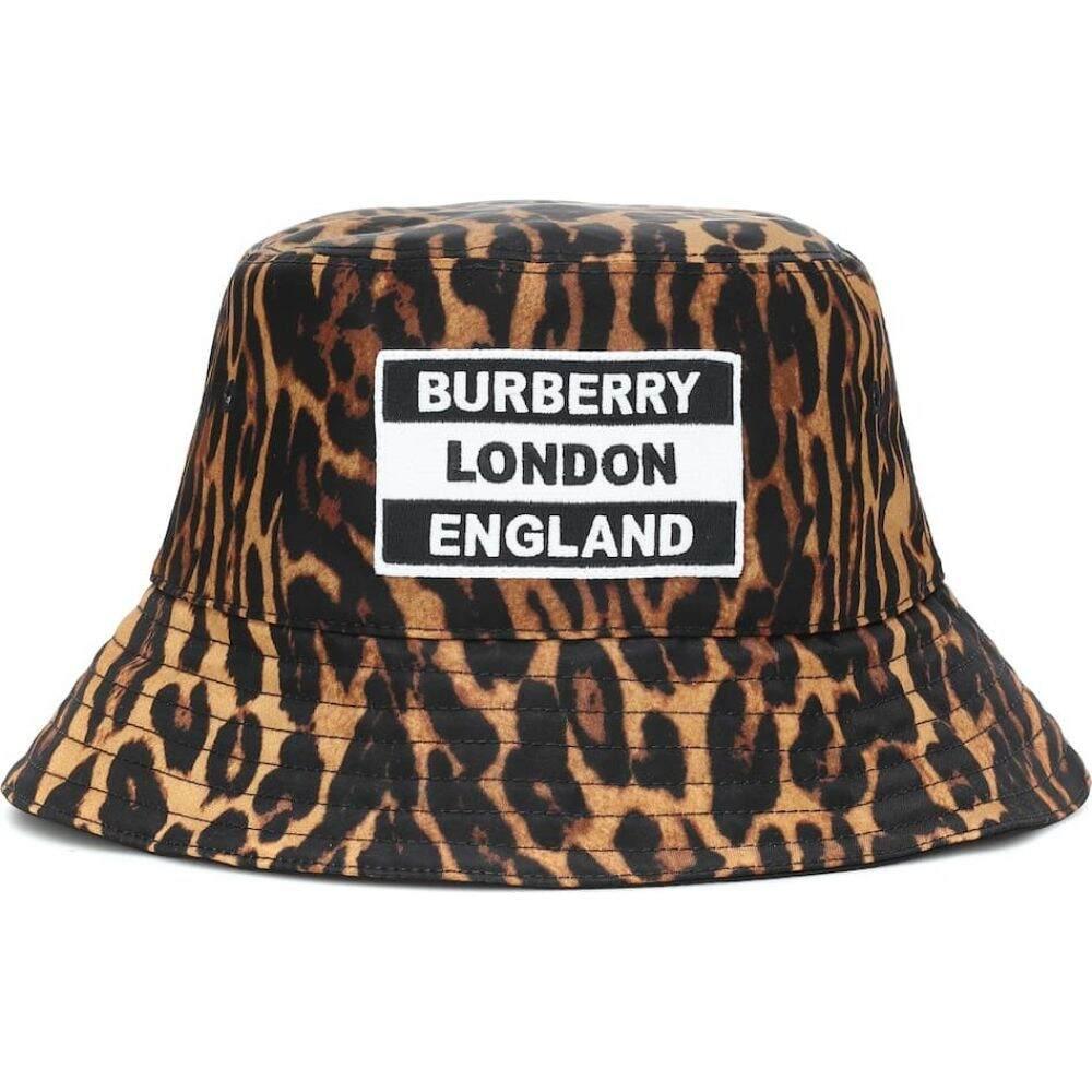 バーバリー Burberry レディース ハット バケットハット 帽子【leopard-print bucket hat】Leopard