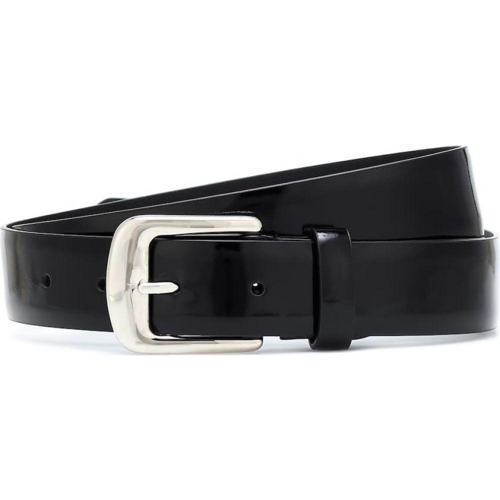 メゾン マルジェラ Maison Margiela レディース ベルト 【leather belt】Black