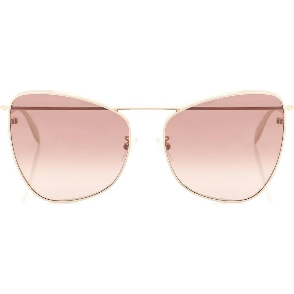 アレキサンダー マックイーン Alexander McQueen レディース メガネ・サングラス キャットアイ【cat-eye sunglasses】