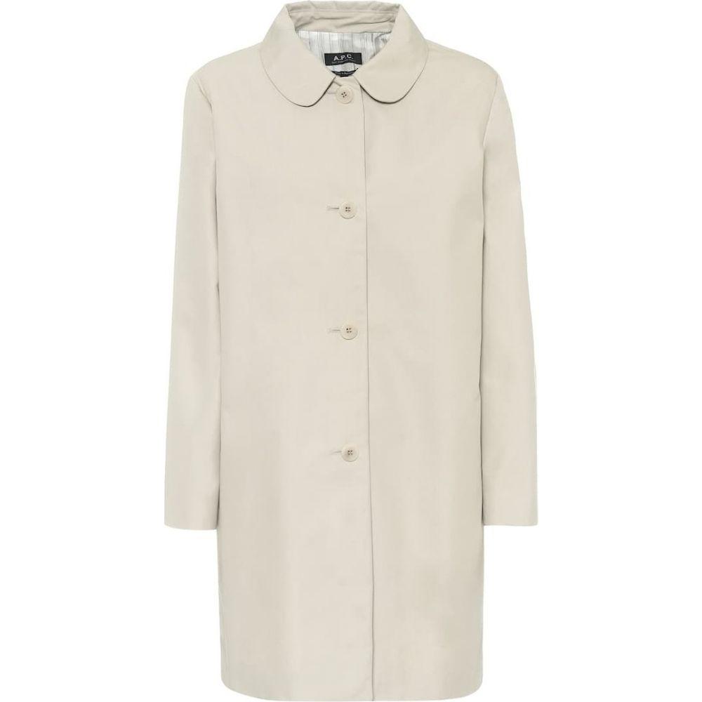 アーペーセー A.P.C. レディース コート アウター【cotton-blend twill coat】Craie