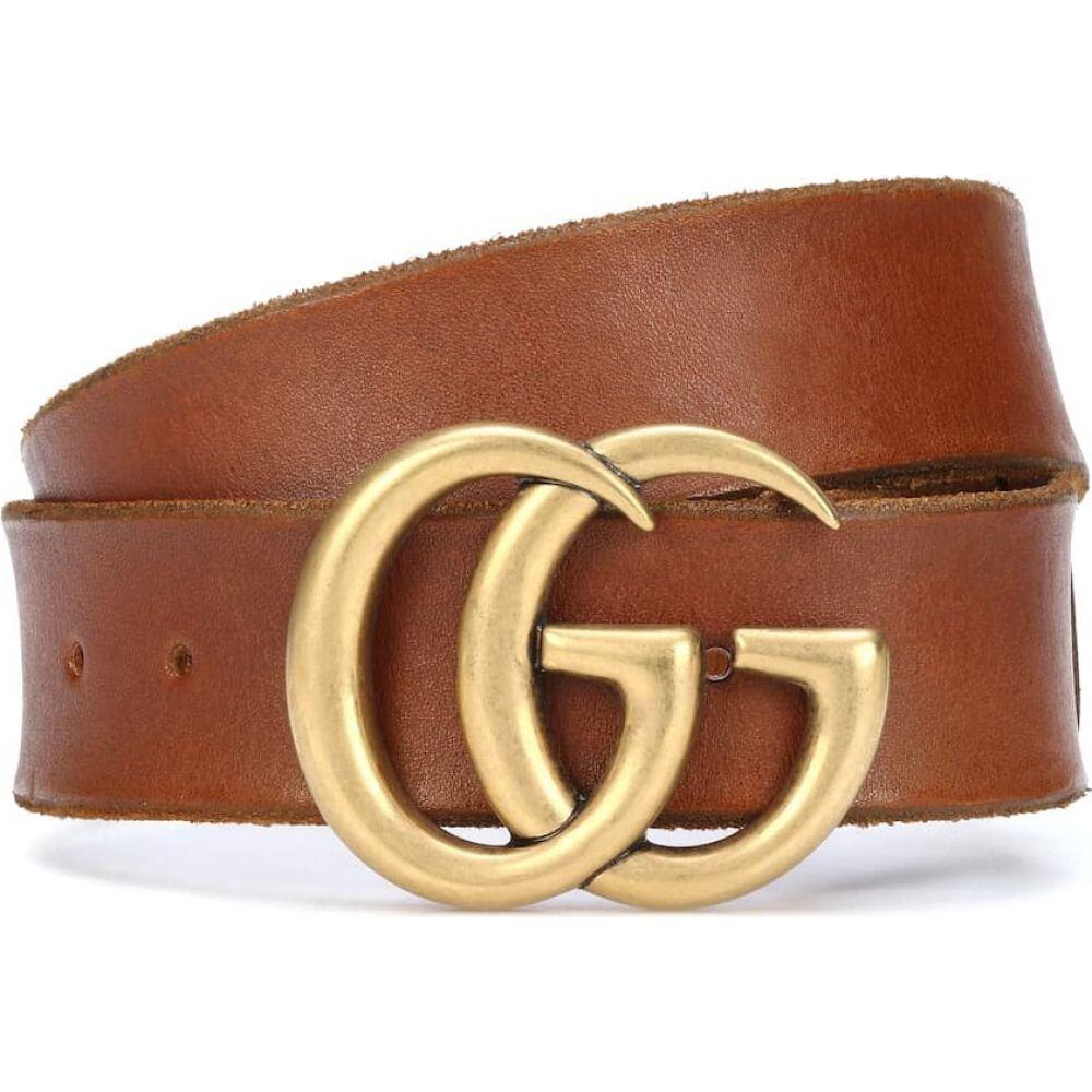 グッチ Gucci レディース ベルト 【gg leather belt】Cuir