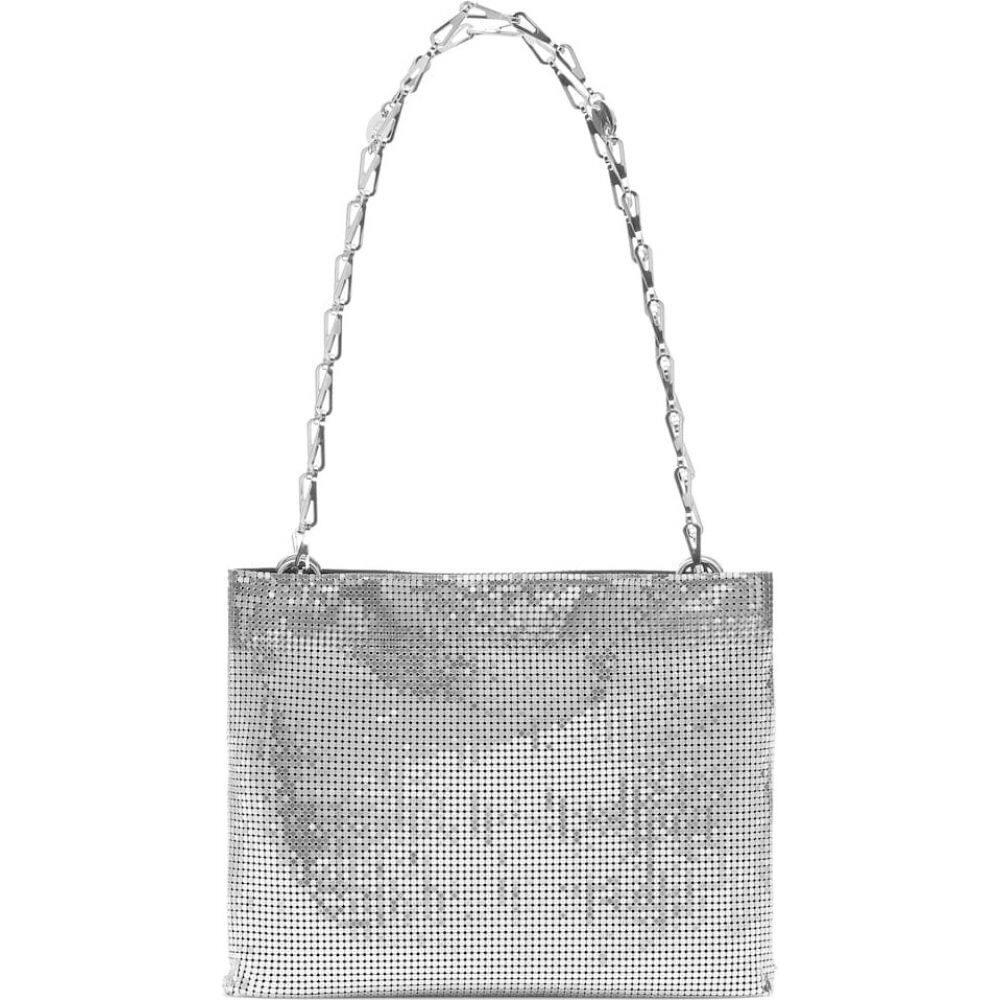 パコラバンヌ Paco Rabanne レディース ショルダーバッグ バッグ【pixel 1969 mesh shoulder bag】Silver/Black