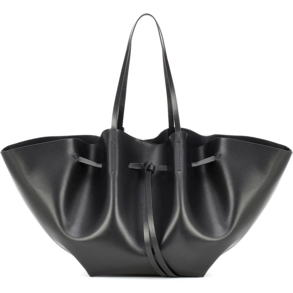 ナヌシュカ Nanushka レディース トートバッグ バッグ【lynne large leather tote】Black