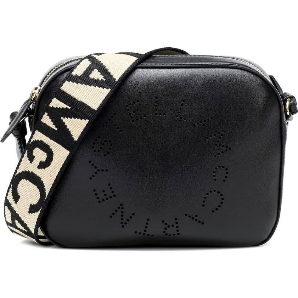 ステラ マッカートニー Stella McCartney レディース ショルダーバッグ バッグ【logo faux leather shoulder bag】Black