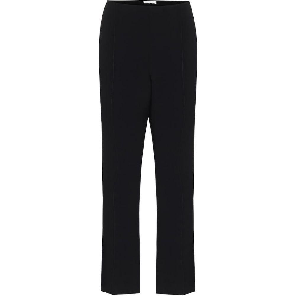 ザ ロウ The Row レディース クロップド ボトムス・パンツ【beca stretch pants】Black