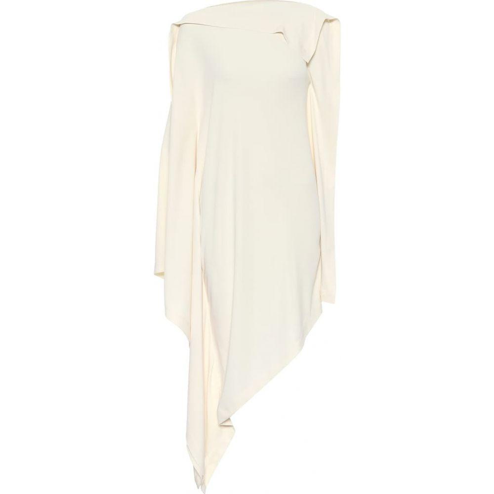 メゾン マルジェラ MM6 Maison Margiela レディース ワンピース ミドル丈 ワンピース・ドレス【asymmetric midi dress】Off White