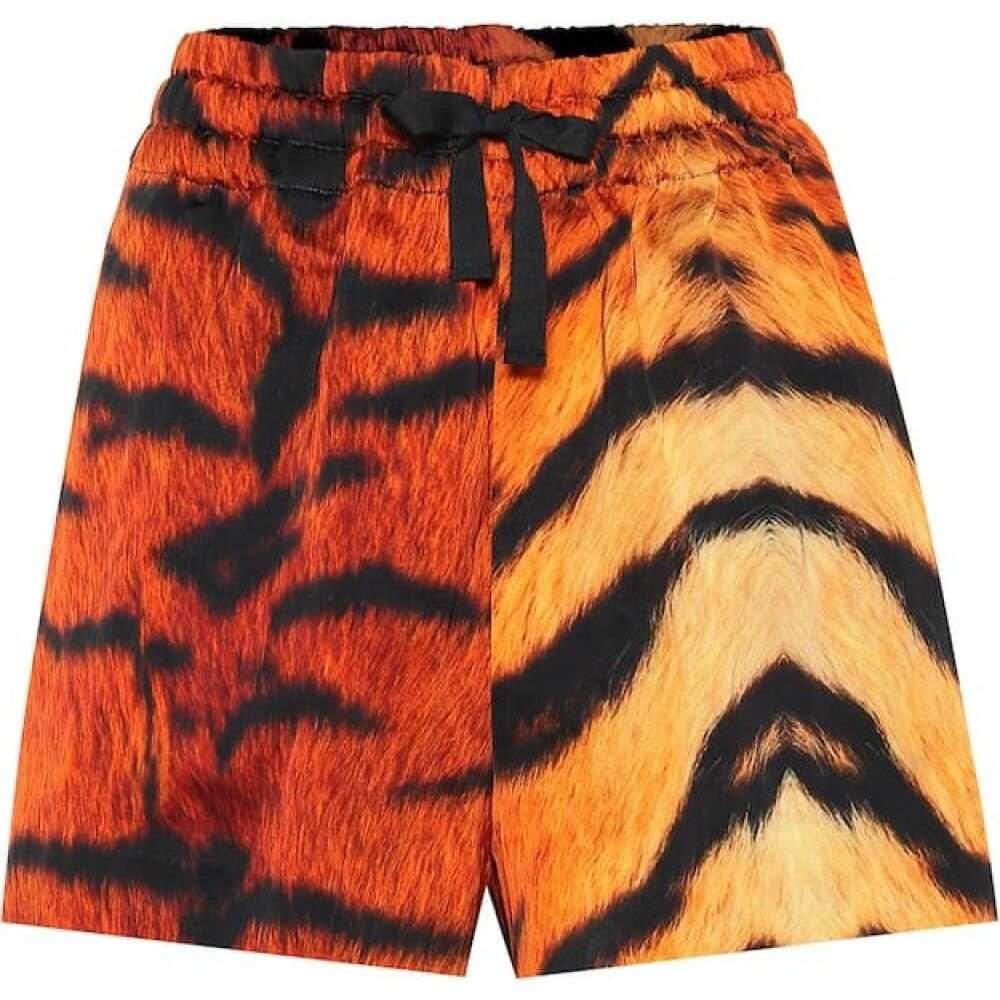 ドリス ヴァン ノッテン Dries Van Noten レディース ショートパンツ ボトムス・パンツ【tiger-print drawstring shorts】Desa