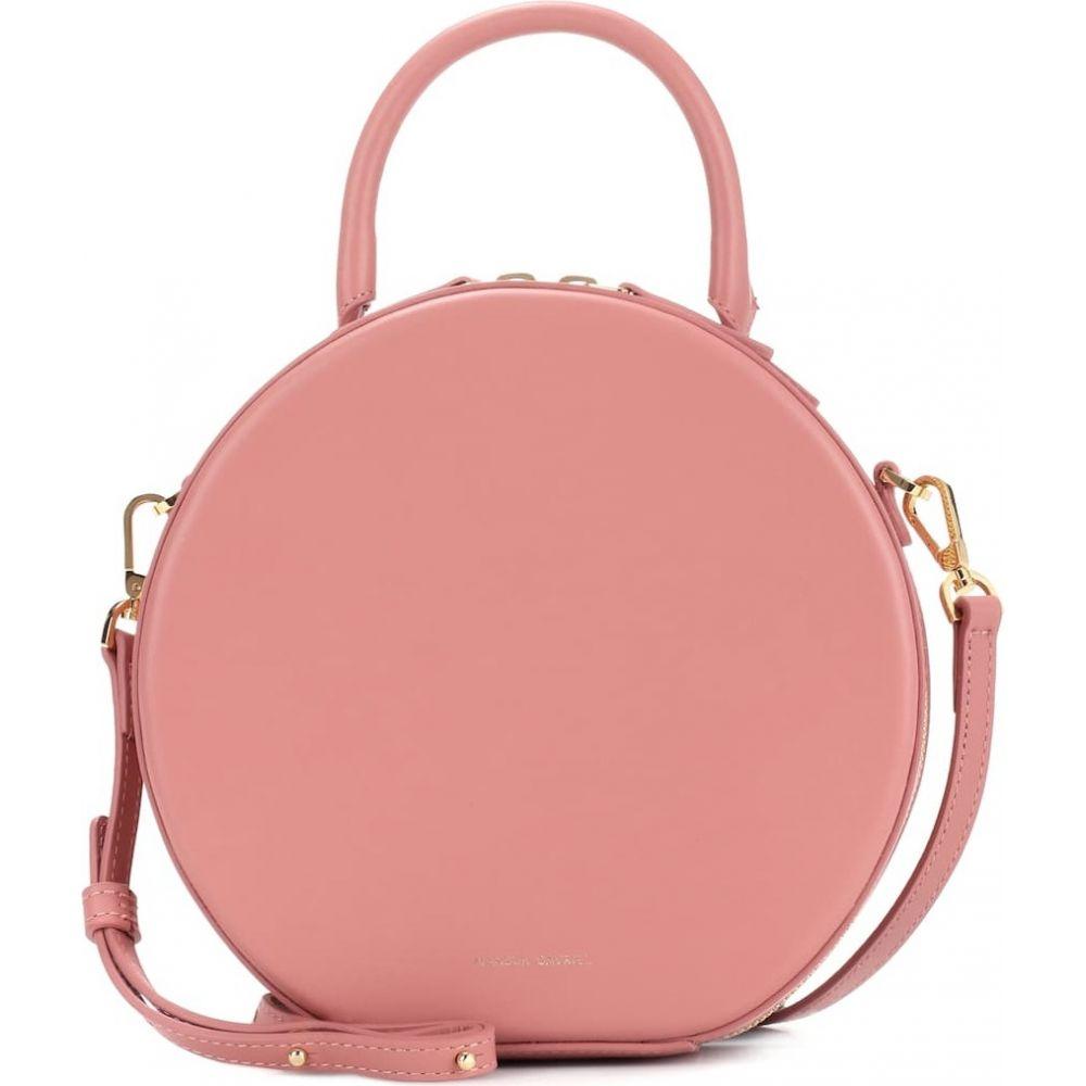 マンサーガブリエル Mansur Gavriel レディース ショルダーバッグ バッグ【circle leather crossbody bag】Blush