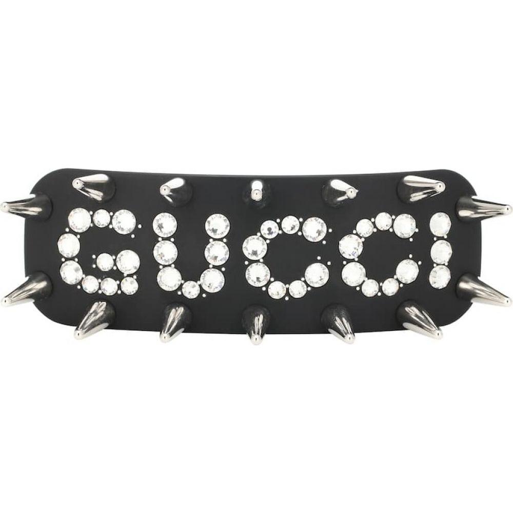 グッチ Gucci レディース ヘアアクセサリー ヘアクリップ【embellished hair clip】