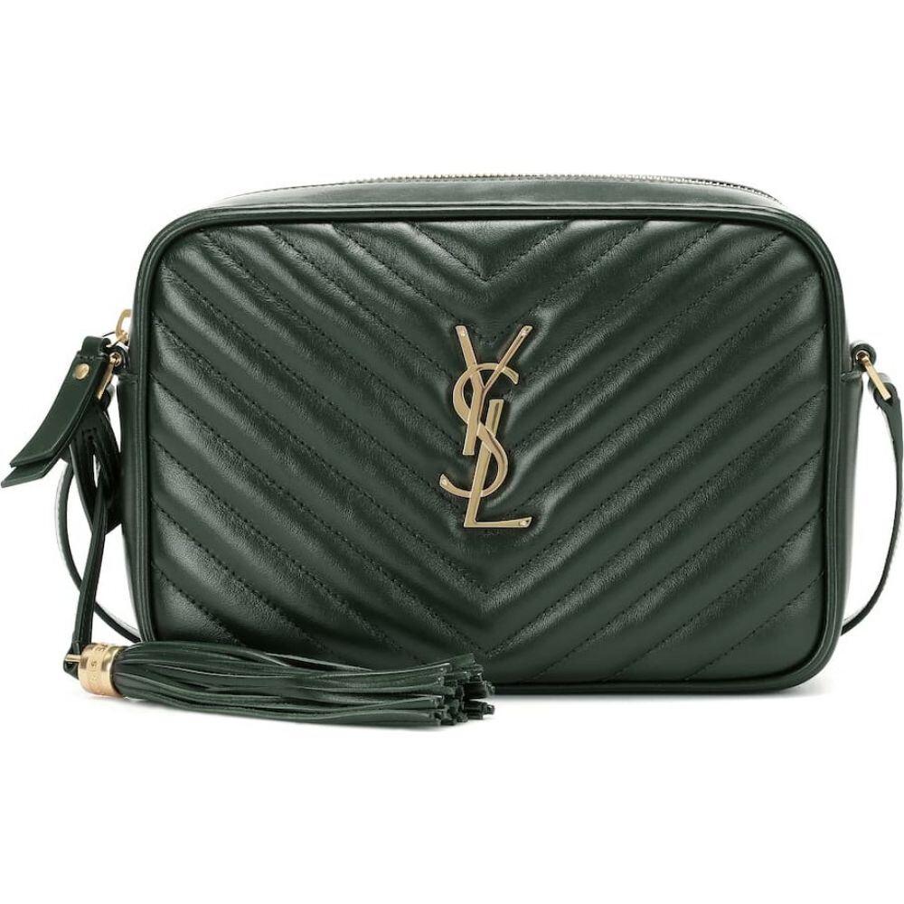 イヴ サンローラン Saint Laurent レディース ショルダーバッグ カメラバッグ バッグ【lou camera leather crossbody bag】Mint