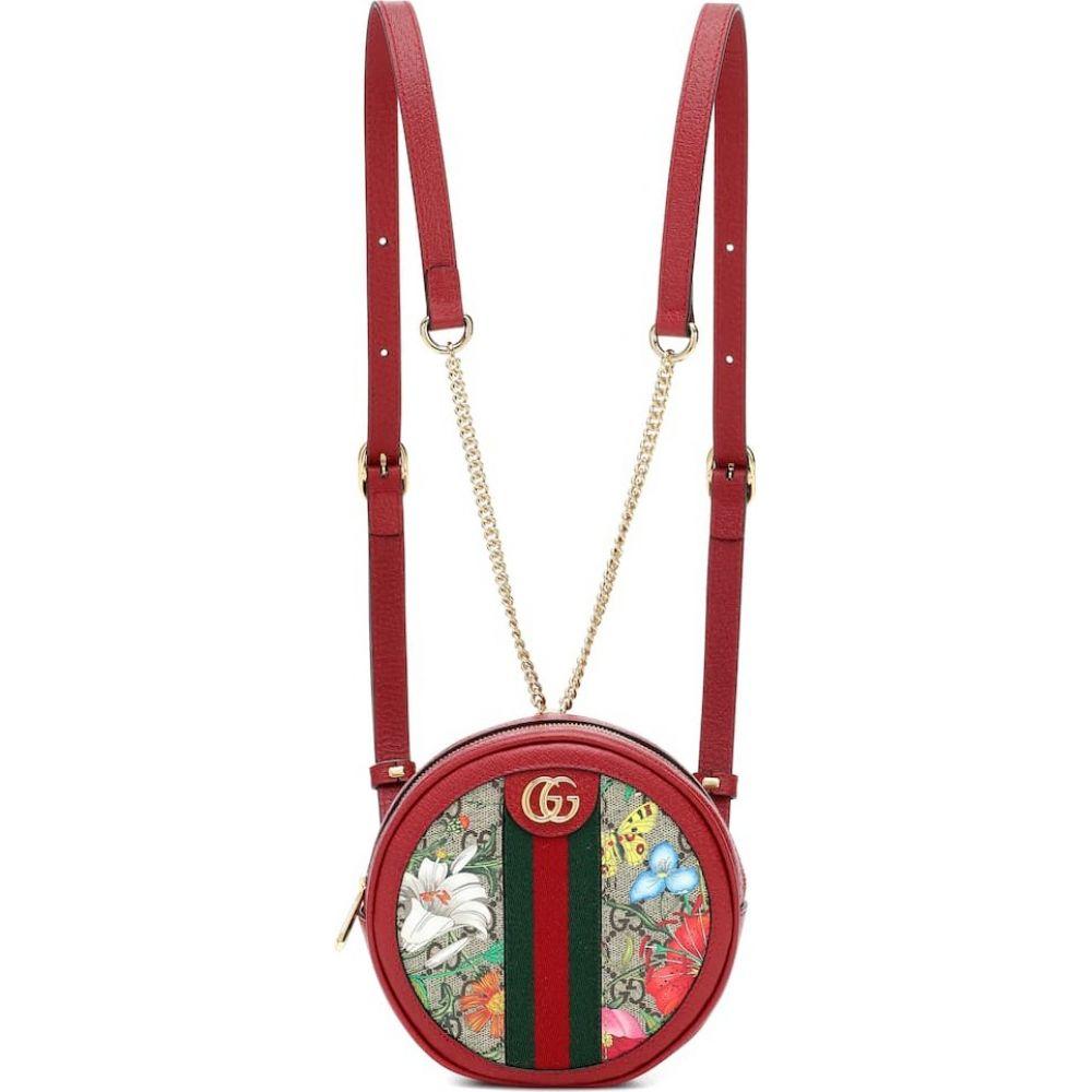 グッチ Gucci レディース バックパック・リュック バッグ【ophidia gg flora backpack】B.eb/N.Acero/Vrv