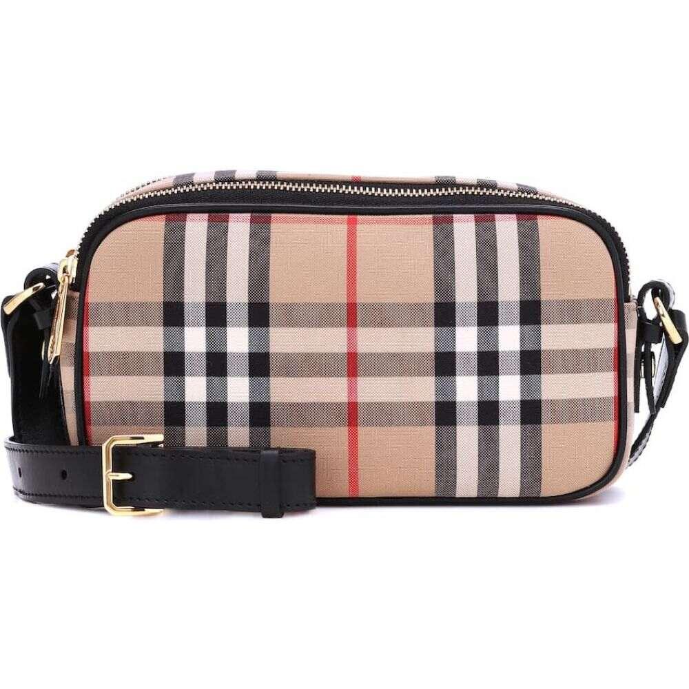 バーバリー Burberry レディース ショルダーバッグ カメラバッグ バッグ【camera micro vintage check belt bag】Archive Beige