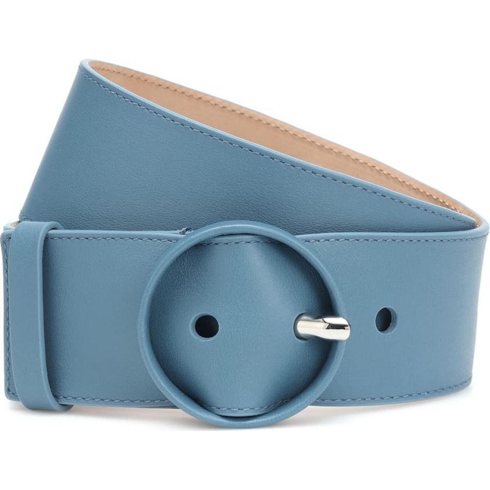 ロロピアーナ Loro Piana レディース ベルト 【leather belt】Light Blue