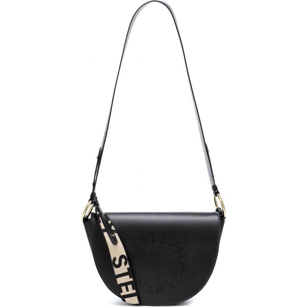 ステラ マッカートニー Stella McCartney レディース ショルダーバッグ バッグ【marlee faux-leather shoulder bag】Black