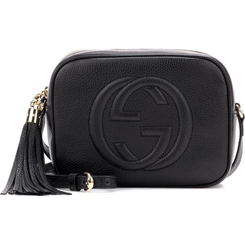 グッチ Gucci レディース ショルダーバッグ バッグ【soho leather crossbody bag】Nero