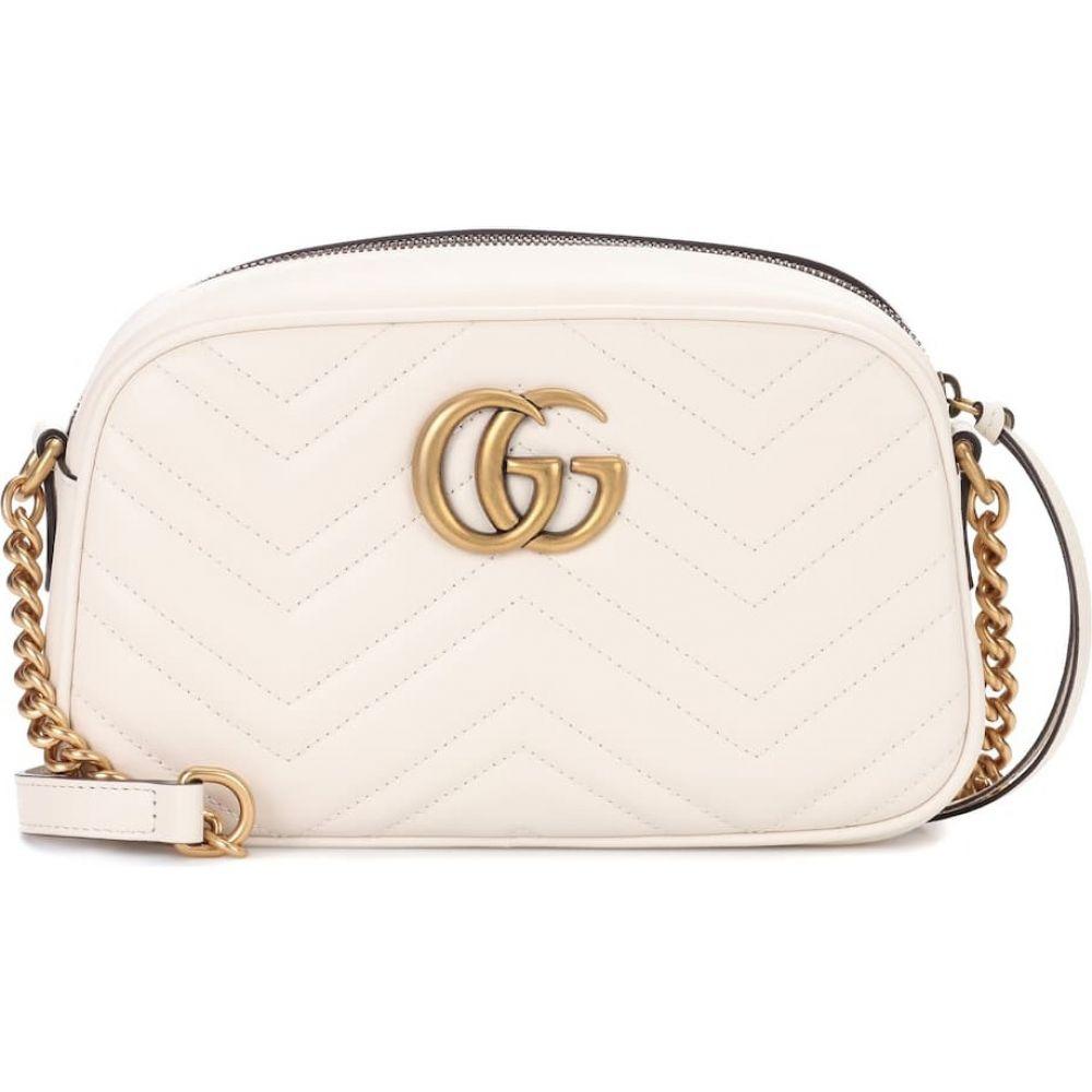 グッチ Gucci レディース ショルダーバッグ バッグ【gg marmont small shoulder bag】M.White/M.White
