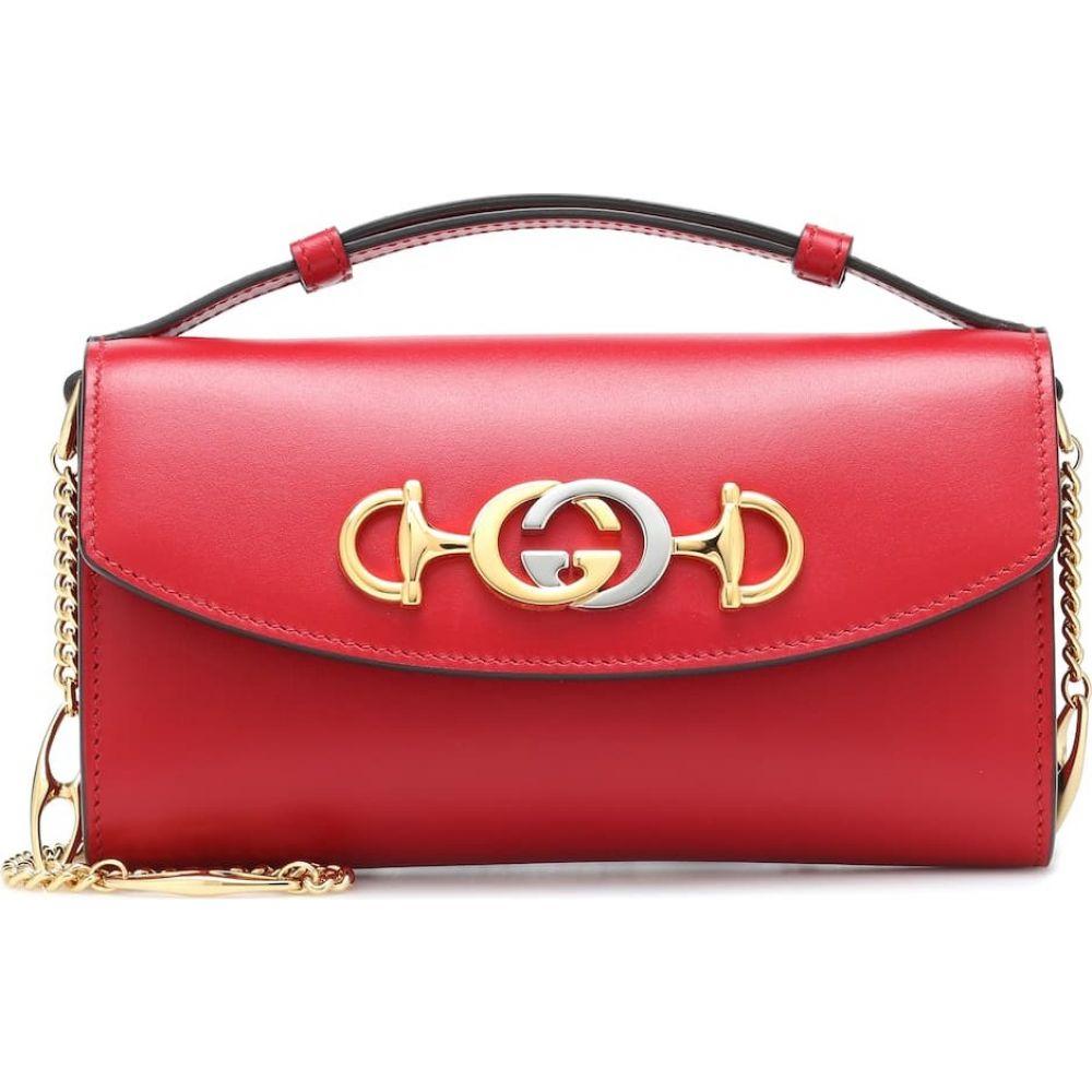 グッチ Gucci レディース ショルダーバッグ バッグ【zumi mini shoulder bag】Hibiscus Red