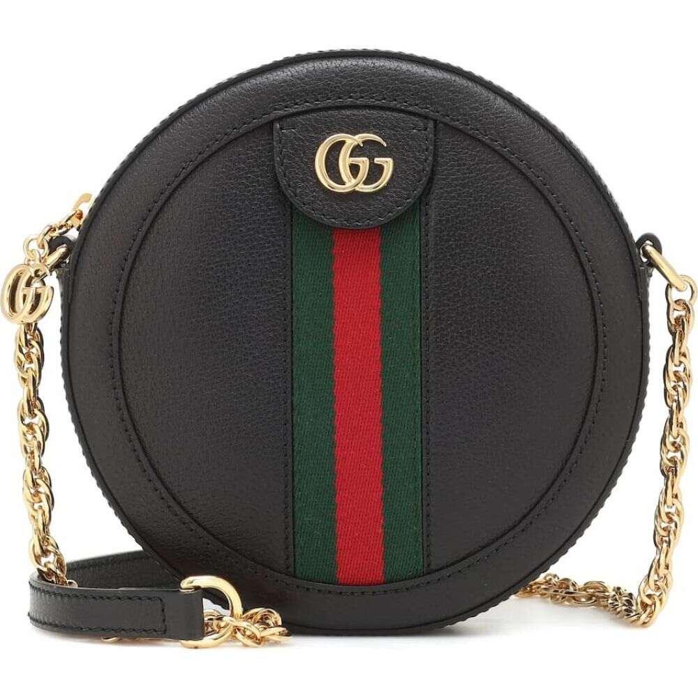 グッチ Gucci レディース ショルダーバッグ バッグ【ophidia mini leather shoulder bag】Nero/Vrv