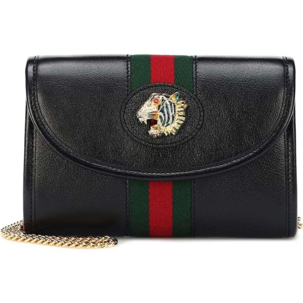 グッチ Gucci レディース ショルダーバッグ バッグ【rajah mini leather shoulder bag】Nero/Vrv/Mult