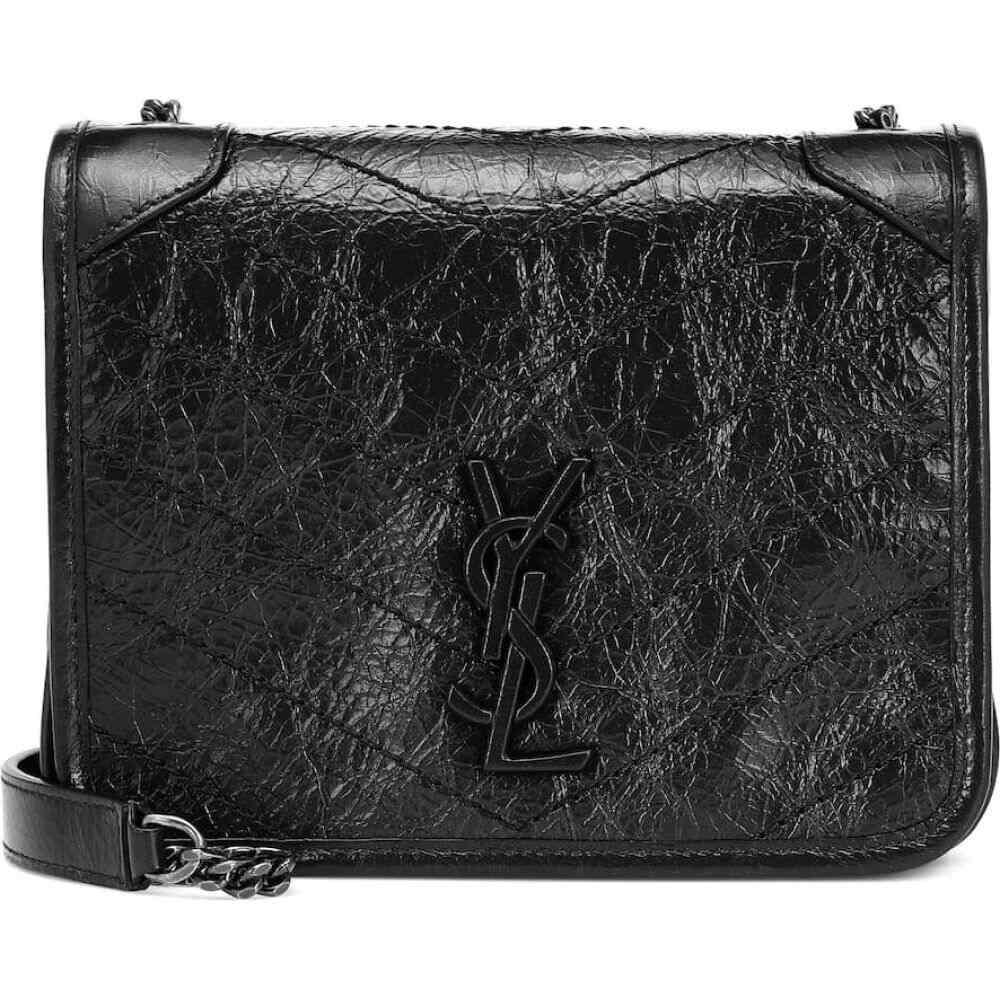 イヴ サンローラン Saint Laurent レディース ショルダーバッグ バッグ【niki mini leather shoulder bag】Nero
