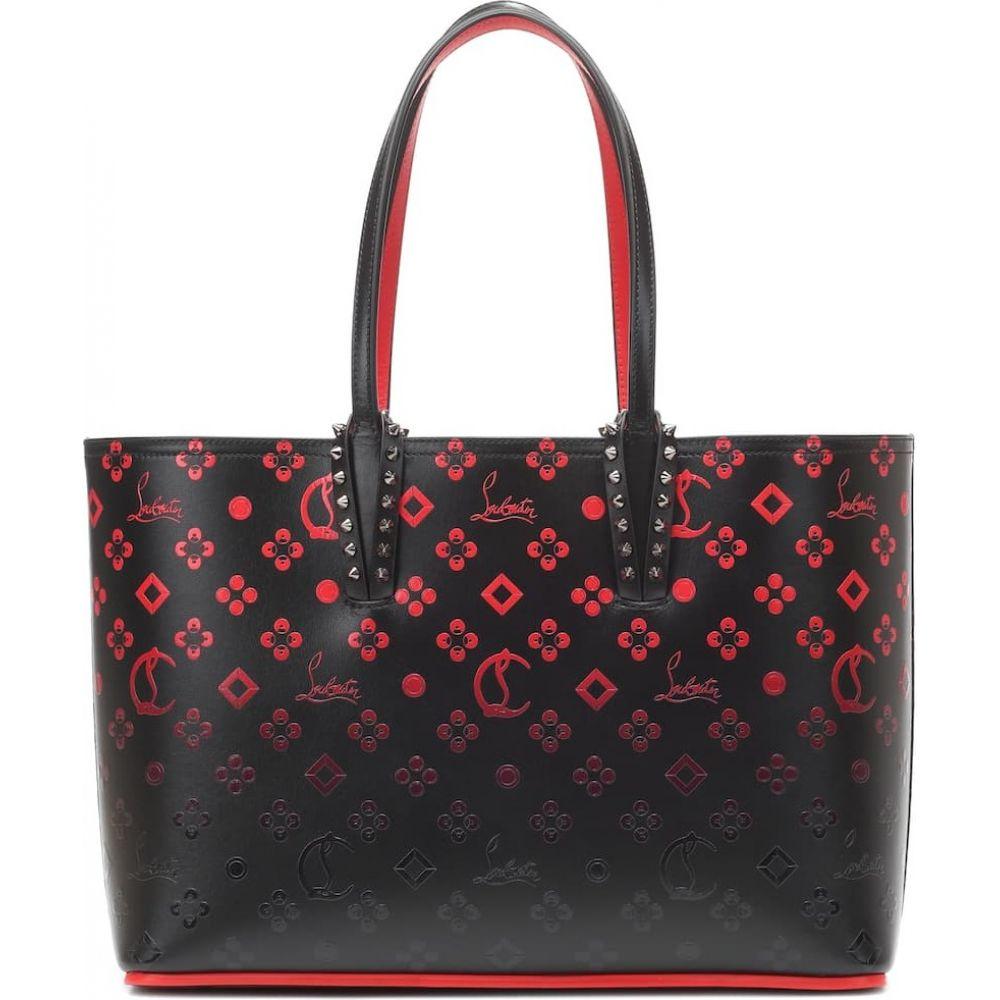 クリスチャン ルブタン Christian Louboutin レディース トートバッグ バッグ【cabata small leather shopper】Black//Red/Black