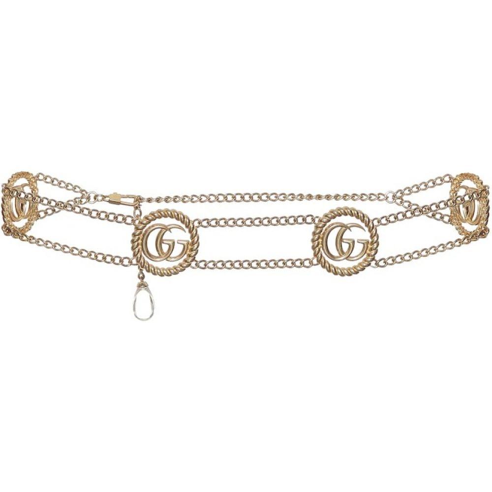 グッチ Gucci レディース ベルト 【double g chain belt】Oro