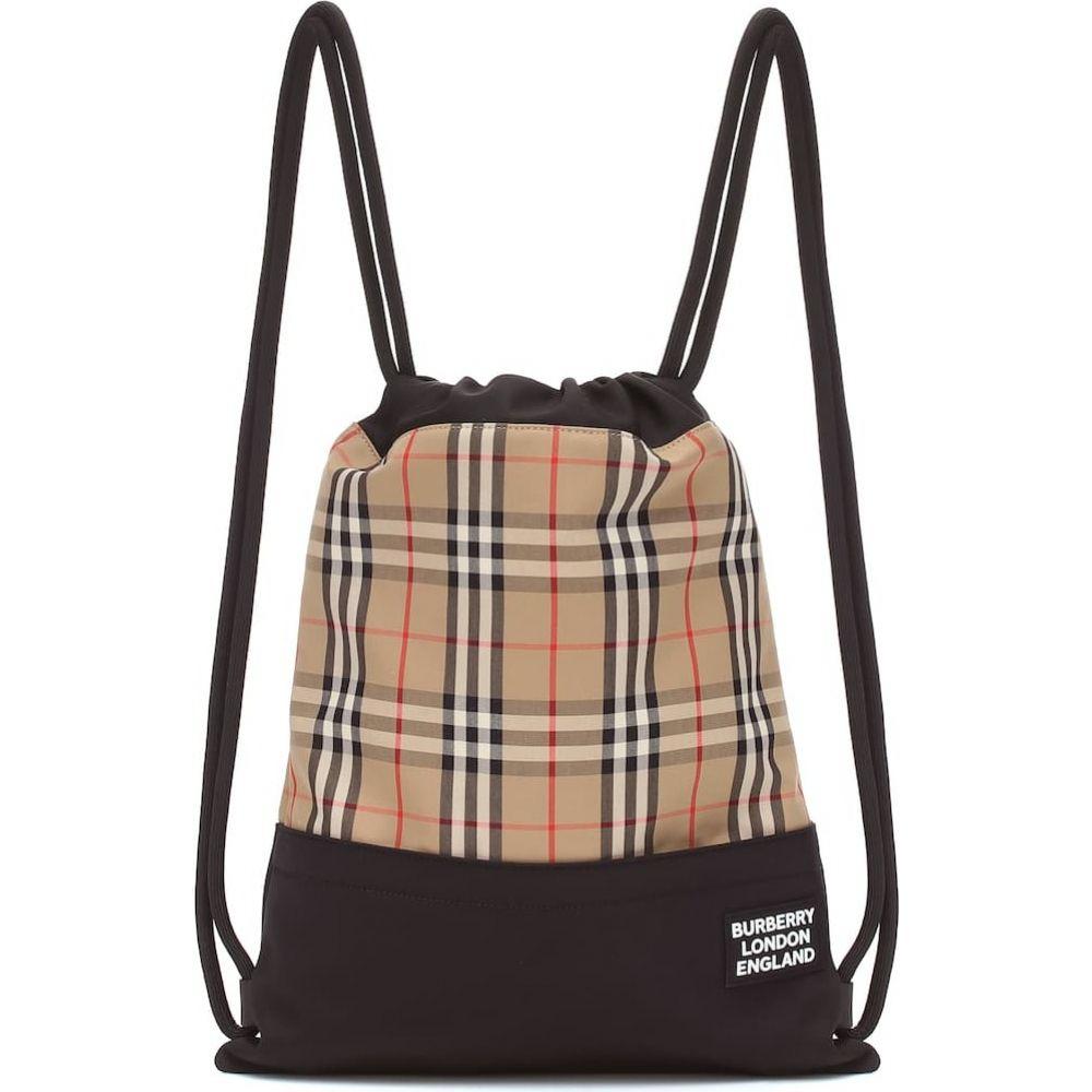 バーバリー Burberry レディース バックパック・リュック バッグ【check drawstring backpack】