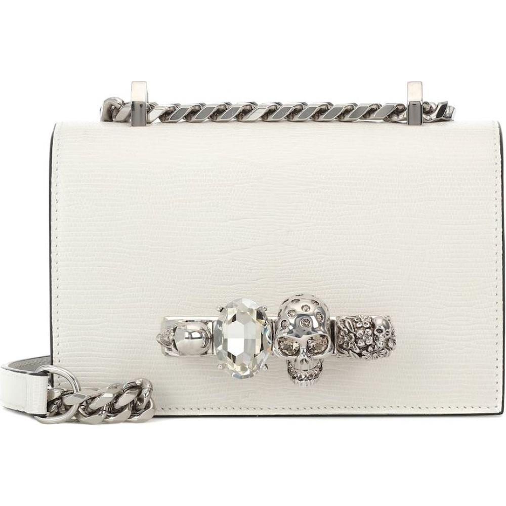 アレキサンダー マックイーン Alexander McQueen レディース ショルダーバッグ バッグ【jeweled mini leather crossbody bag】Deep Ivory