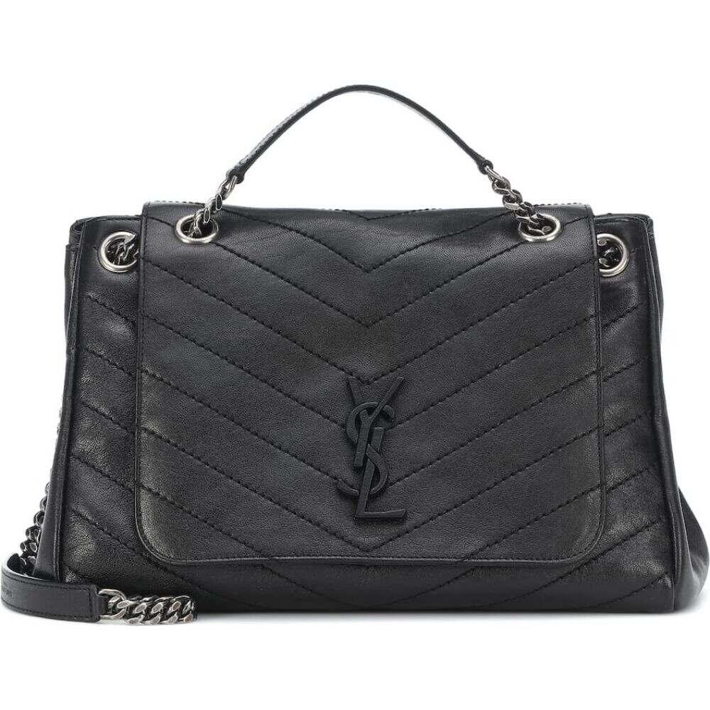 イヴ サンローラン Saint Laurent レディース ショルダーバッグ バッグ【nolita medium leather shoulder bag】Nero