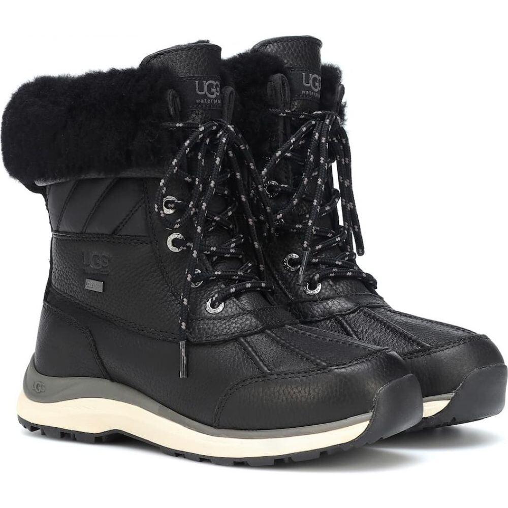 アグ Ugg レディース ブーツ ショートブーツ シューズ・靴【adironback iii leather ankle boots】Black