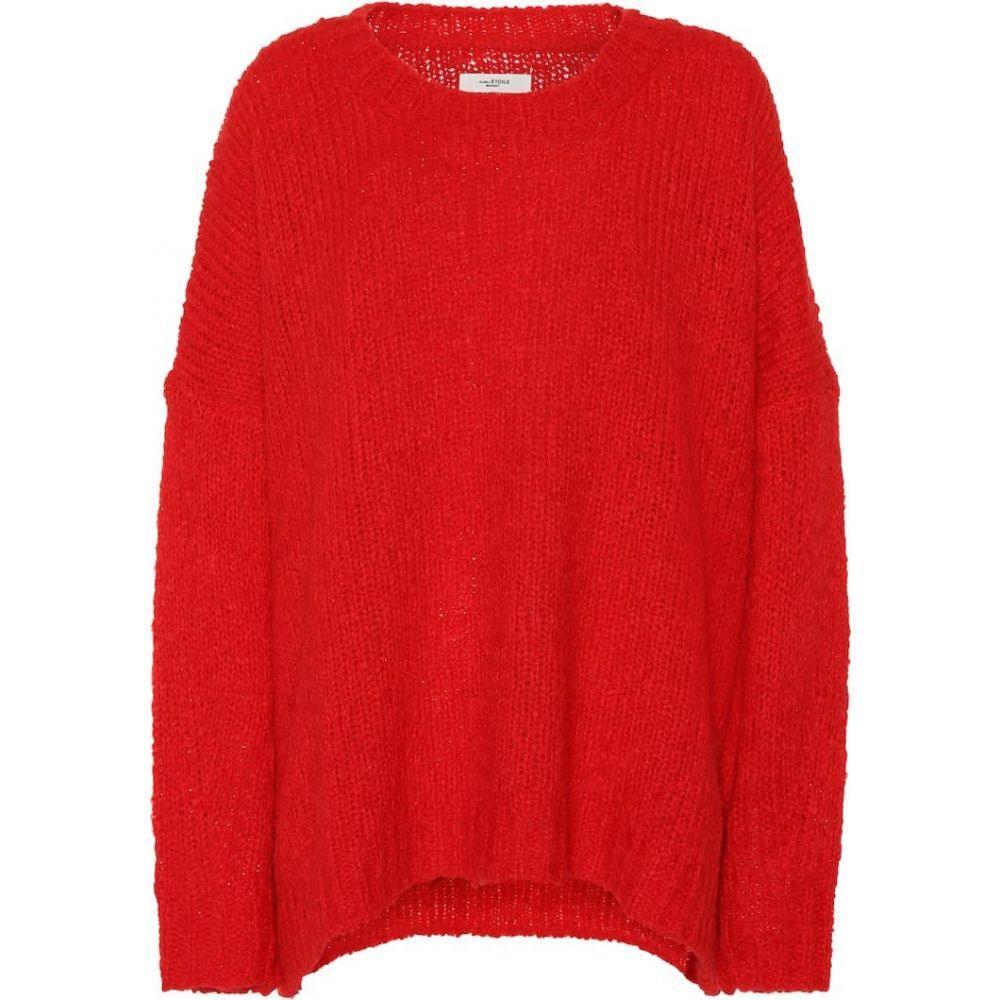 イザベル マラン Isabel Marant, Etoile レディース ニット・セーター トップス【shana alpaca and wool-blend sweater】Red