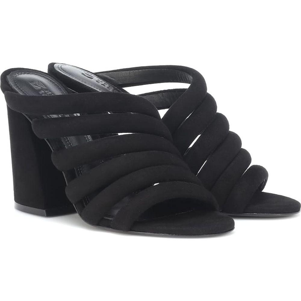 メルセデス カステロ Mercedes Castillo レディース サンダル・ミュール シューズ・靴【izzie high suede sandals】Black