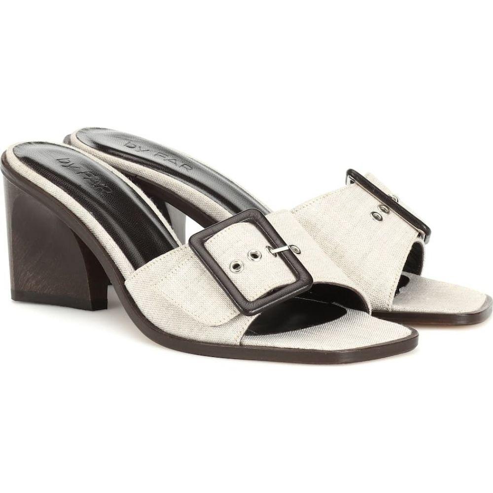 バイ ファー By Far レディース サンダル・ミュール シューズ・靴【silvia linen sandals】Natural