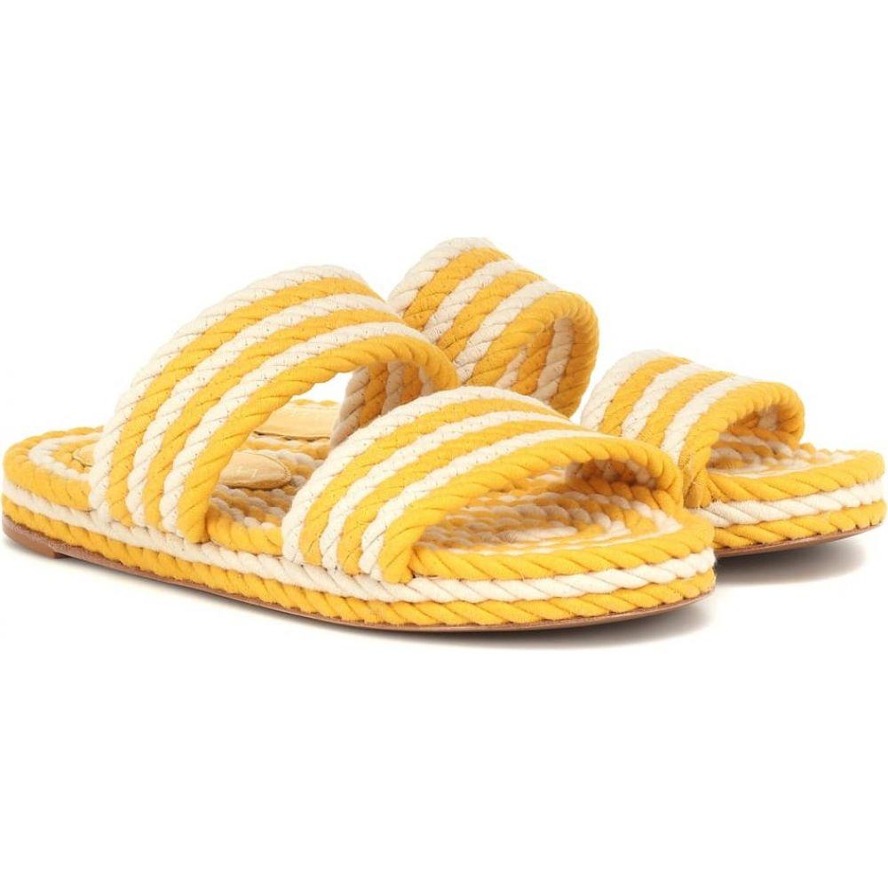 ジマーマン Zimmermann レディース サンダル・ミュール シューズ・靴【rope slides】Yellow Stripe