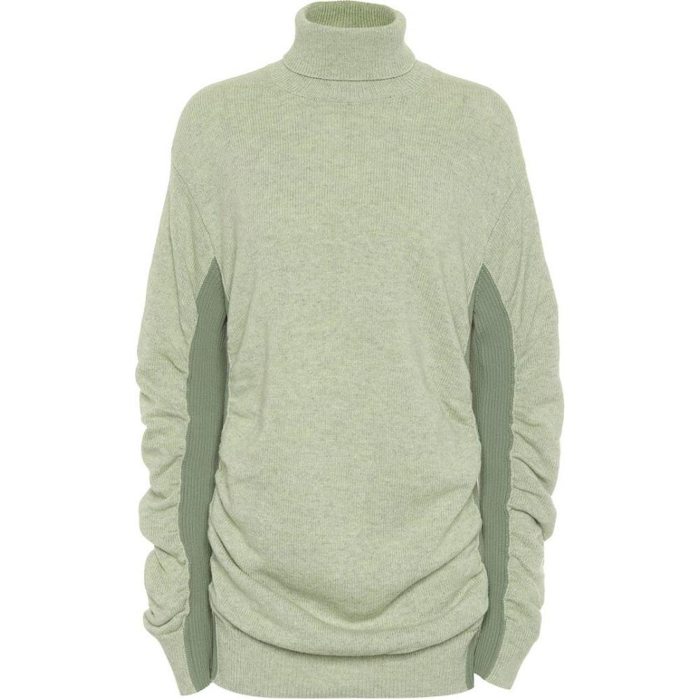 メゾン マルジェラ MM6 Maison Margiela レディース ニット・セーター トップス【roll-neck wool-blend sweater】Dirty Sky