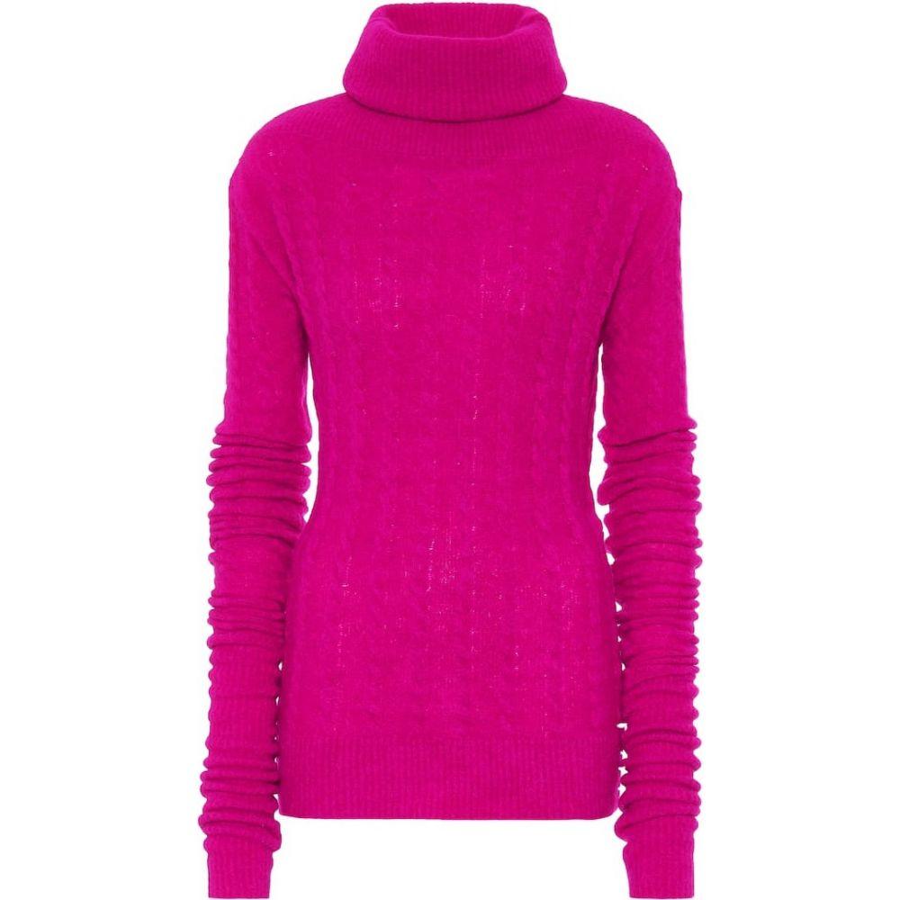 ジャックムス Jacquemus レディース ニット・セーター トップス【la maille sofia wool-blend sweater】Fuchsia