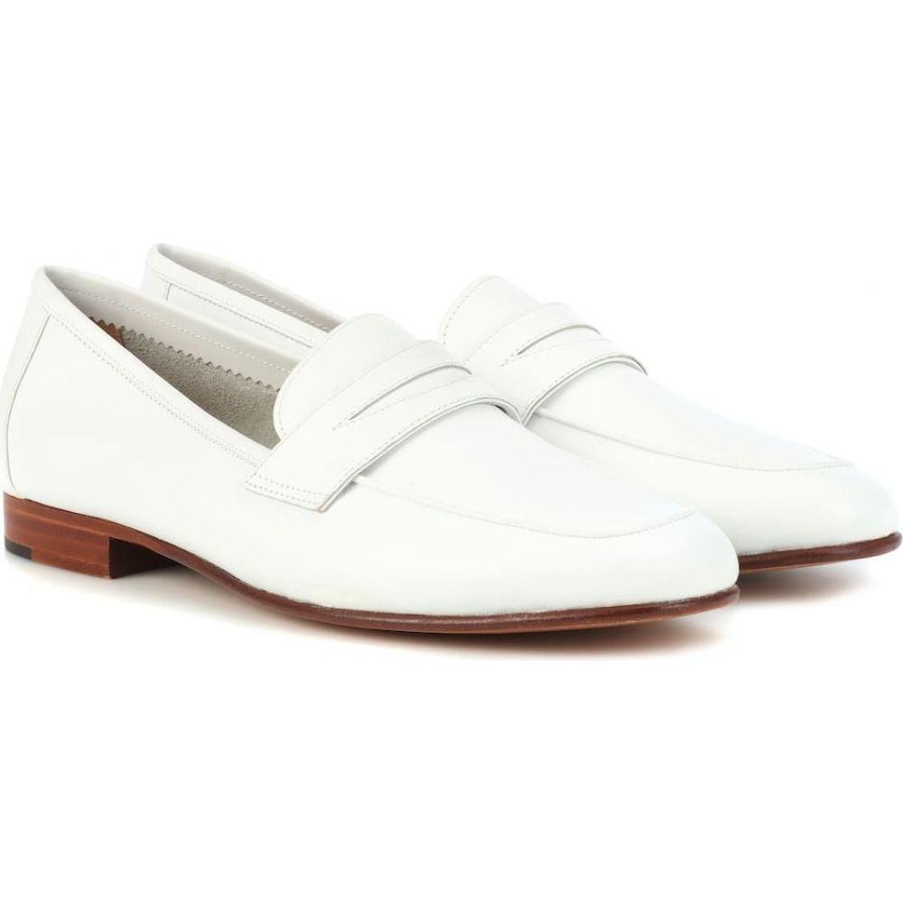 マンサーガブリエル Mansur Gavriel レディース ローファー・オックスフォード シューズ・靴【classic leather loafers】White