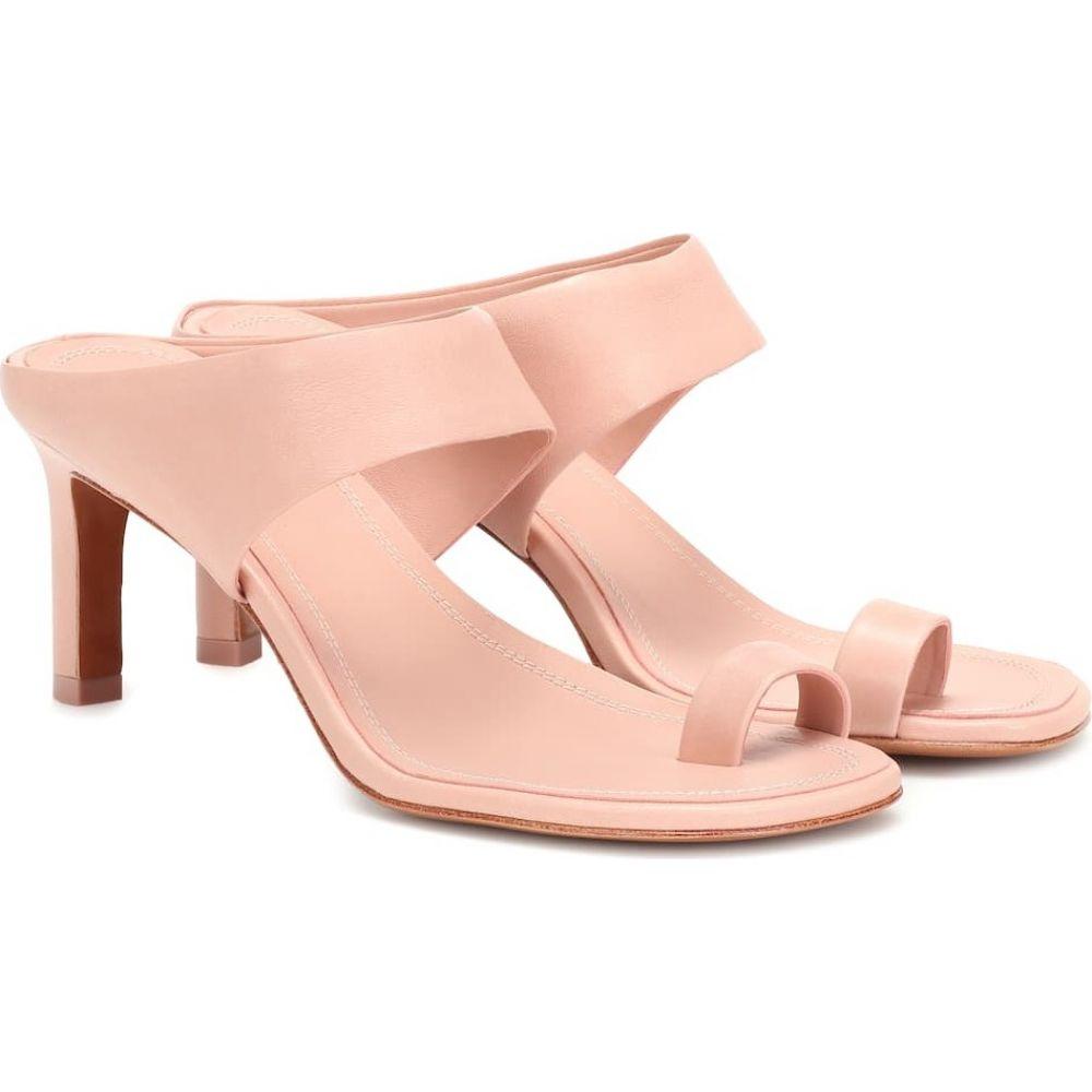 ジマーマン Zimmermann レディース サンダル・ミュール シューズ・靴【strap leather sandals】Nude