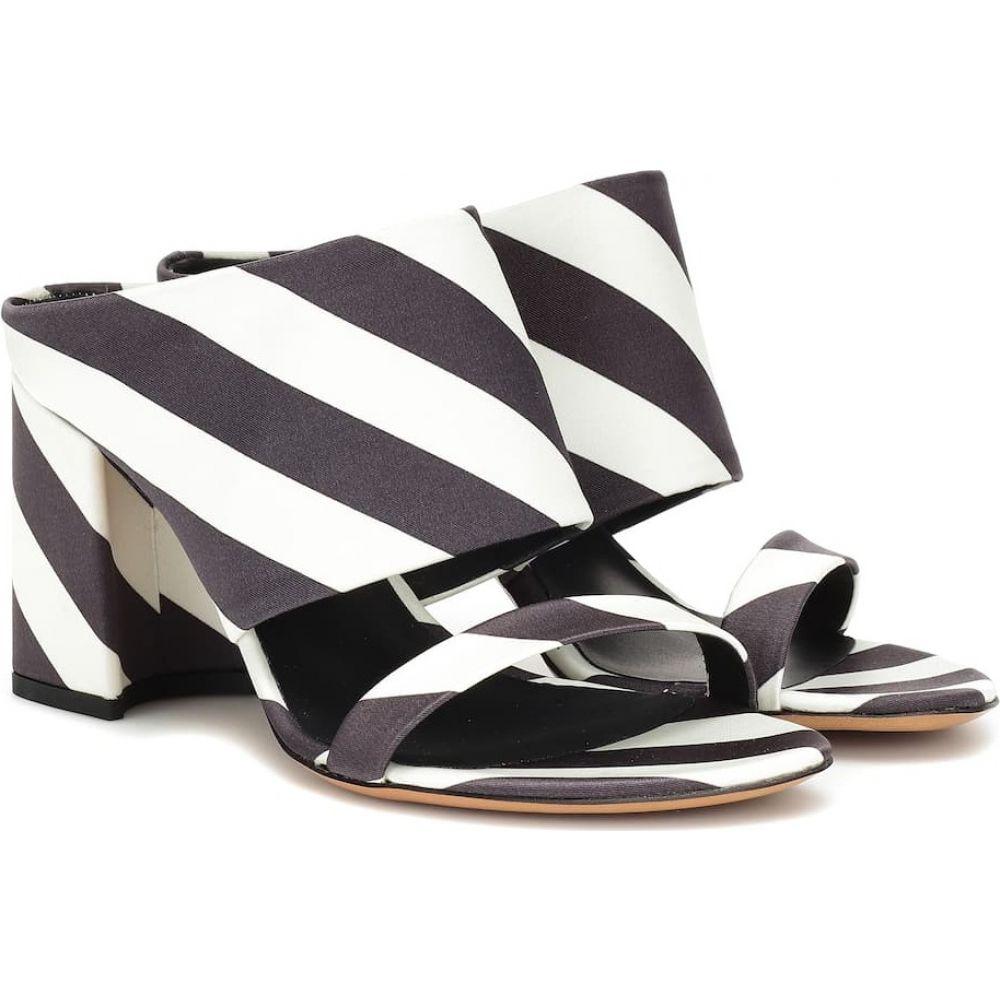 ドリス ヴァン ノッテン Dries Van Noten レディース サンダル・ミュール シューズ・靴【striped sandals】Black