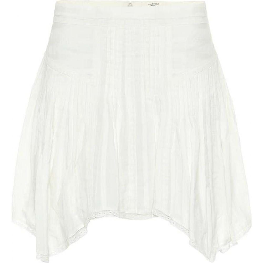 イザベル マラン Isabel Marant, Etoile レディース ミニスカート スカート【prandali cotton-voile miniskirt】White