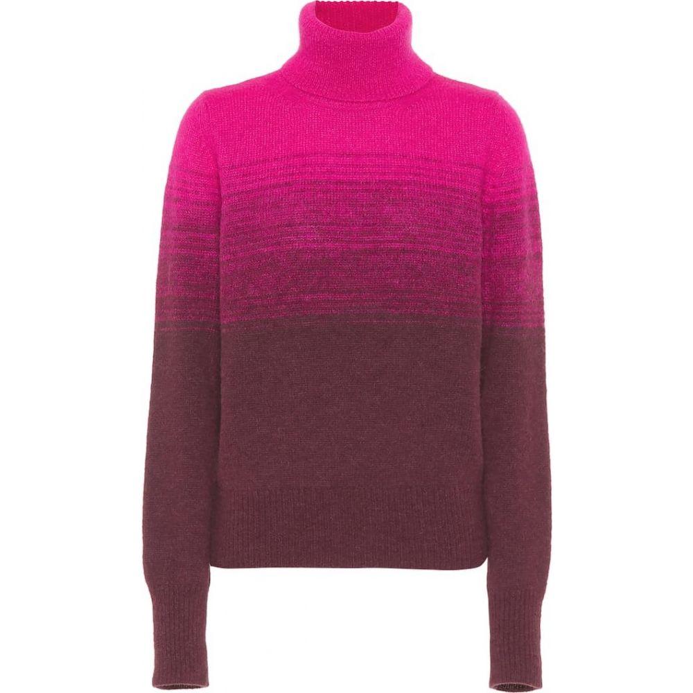 ドリス ヴァン ノッテン Dries Van Noten レディース ニット・セーター トップス【gradient turtleneck sweater】Bordeaux